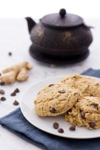 ginger chocolate vegan scone recipe