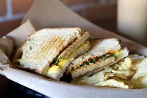 vegan grilled cheese from volstead