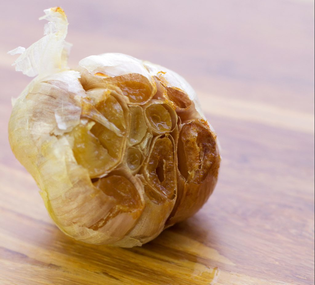 roasted garlic for cauliflower mashed potato recipe