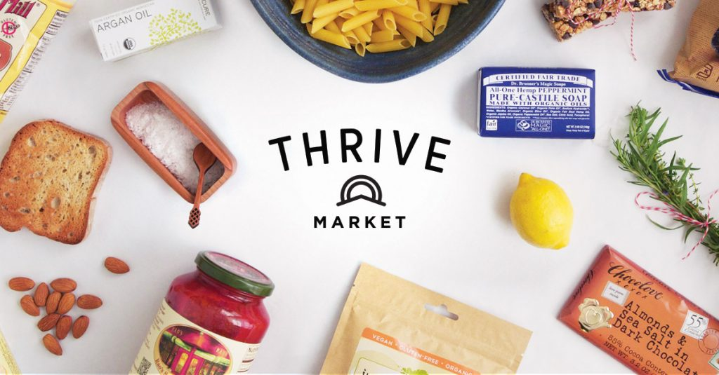 thrive market is a great vegan grocery store