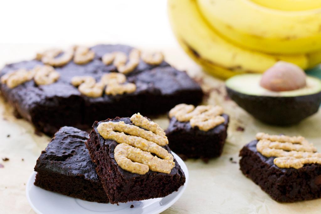 Easy vegan avocado brownie recipe