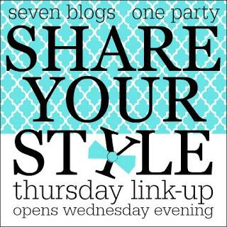 A graphic image of the Share Your Style linkup logo.