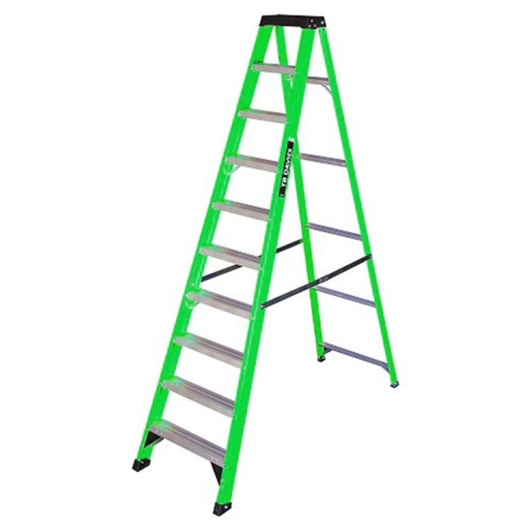 10 Tread Fibreglass Steps - SERV Plant Hire