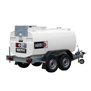 2000 Litre Abbi Towable Fuel Bowser - SERV Plant Hire