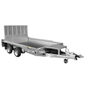 3.5 Tonne Ifor Williams Plant Trailer - SERV Plant Hire