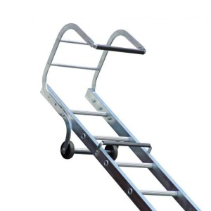 Adjustable 21 ft Roof Ladder - SERV Plant Hire