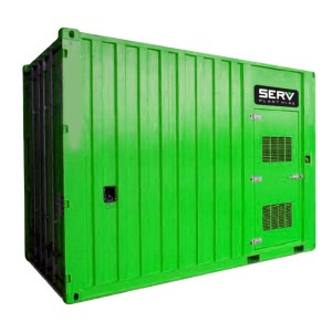 Generator Secure Container - SERV Plant Hire