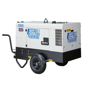 10 kVA Silenced Portable Diesel Generator - SERV Plant Hire