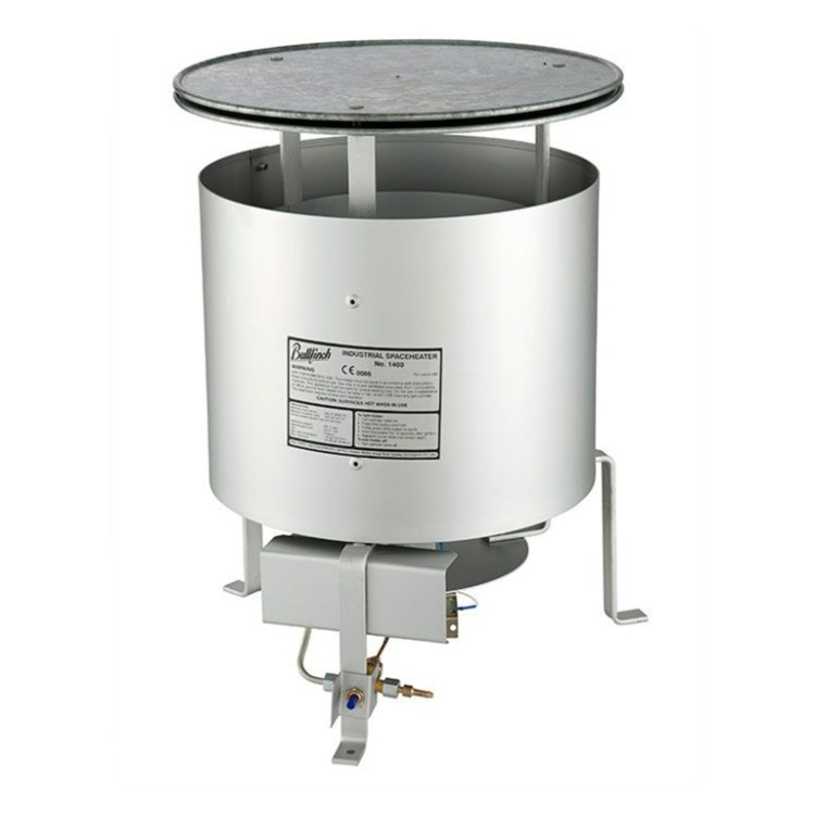 Bullfinch Propane Space Heater - SERV Plant Hire