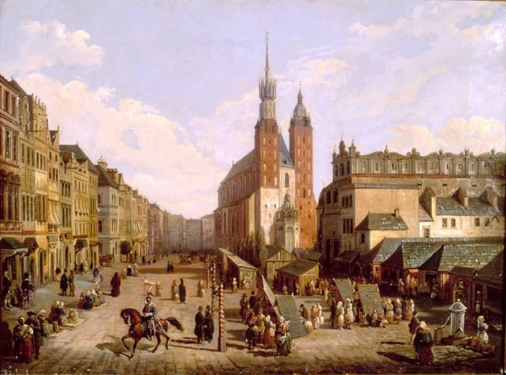 Rynek Krakowski przed 1836r