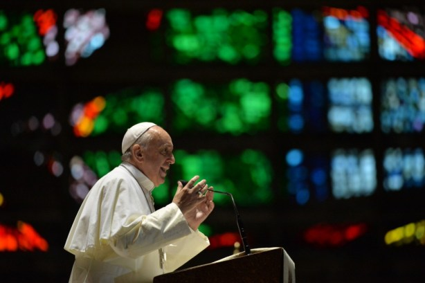 BRAZIL-POPE-WYD-CATHEDRAL