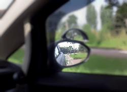 nauka jazdy w zamościu. ustawienie lusterek