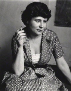 NPG x4062; Doris May Lessing by Roger Mayne
