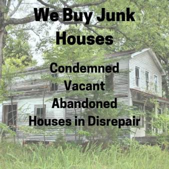 old house - we buy junk houses