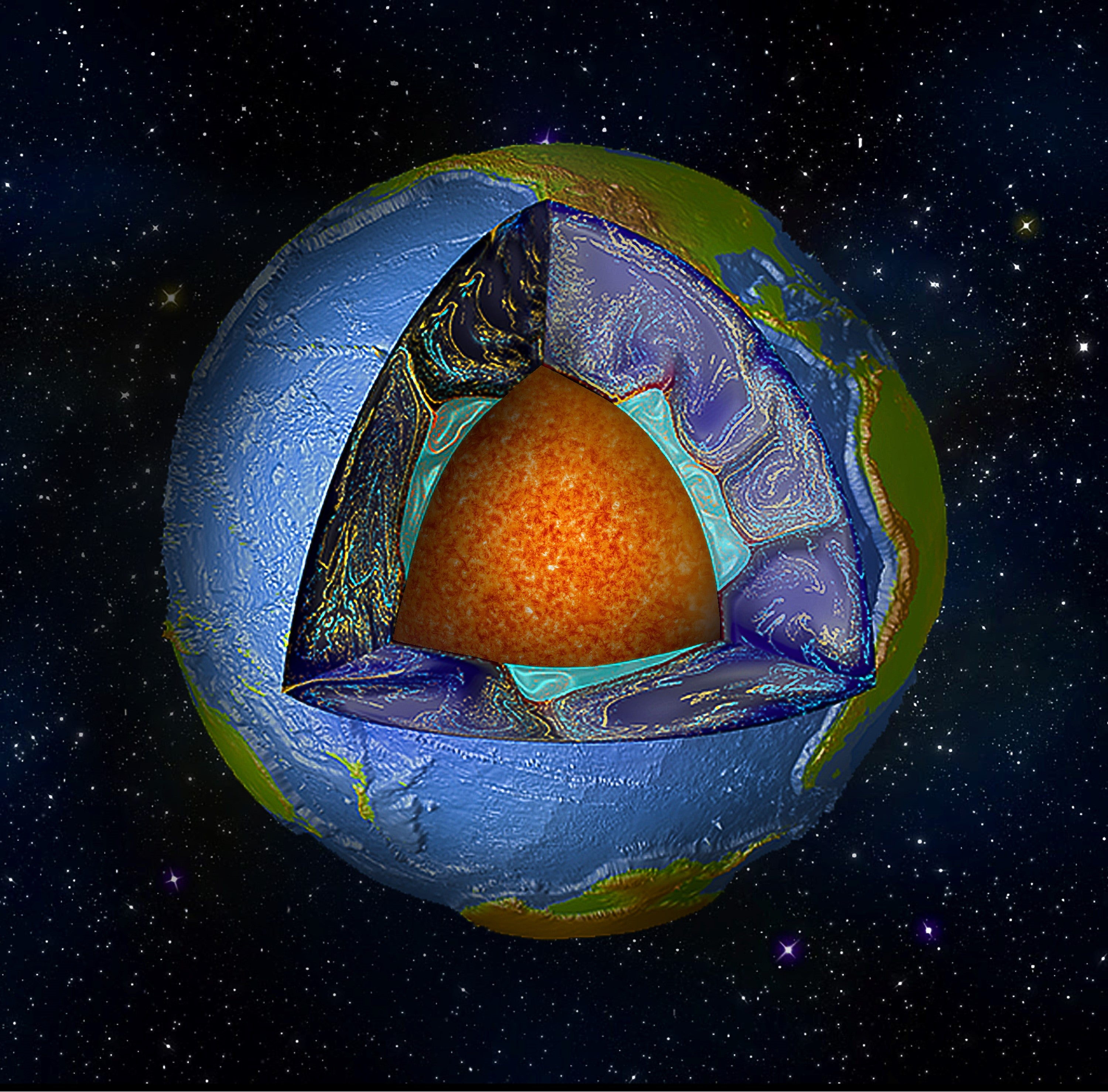 Giant Blobs Of Rock Deep Inside The Earth Hold Important