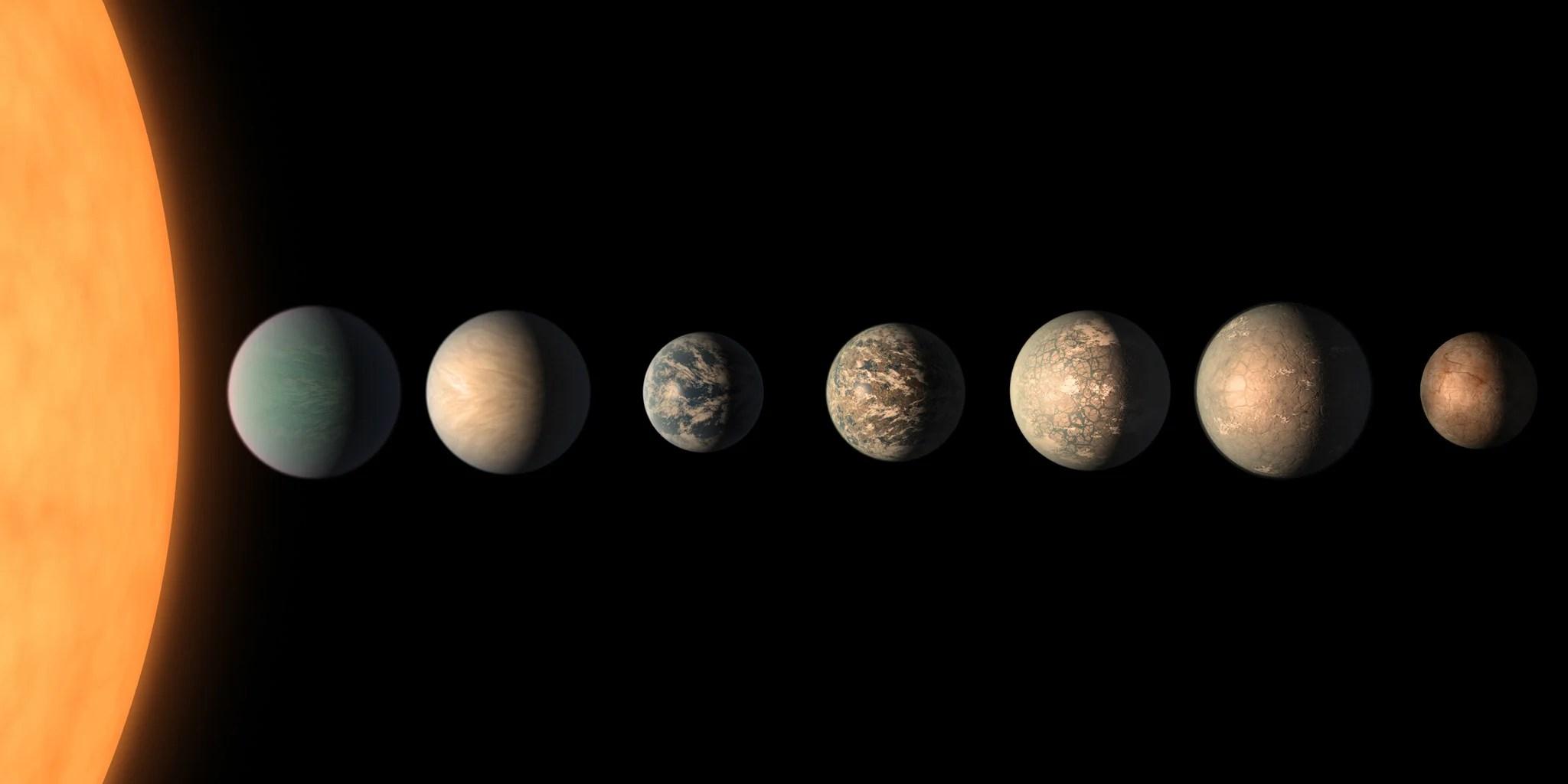 Los Planetas De Trappist 1 Aportan Pistas Acerca De La