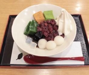 特製あんみつ(京都/茶房いせはん)