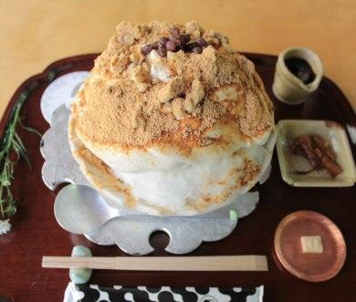 黒みつきなこかき氷(東京/廚菓子くろぎ)