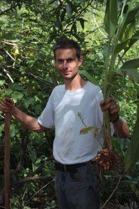 Rencontre d'un producteur de l'île du «mora mora»
