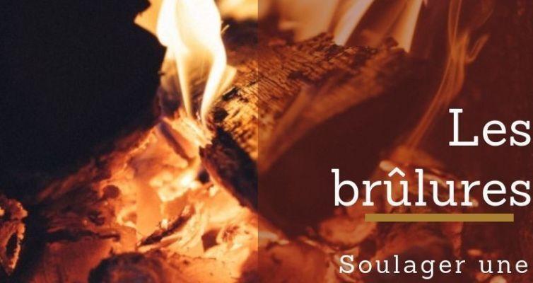 Soulager une brûlure avec les huiles essentielles