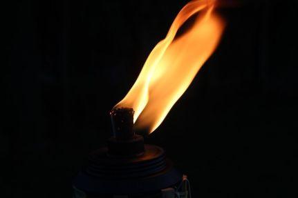 Le feu peut brûler l'odeur et la détruit