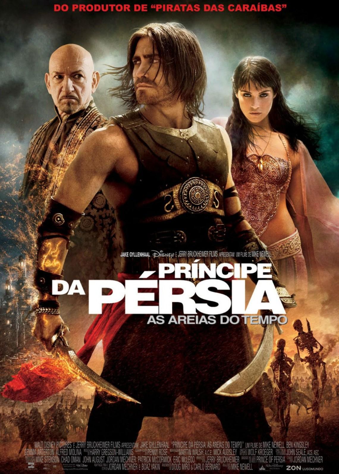 Príncipe da Pérsia - As Areias do Tempo - Sessão da Tarde Hoje