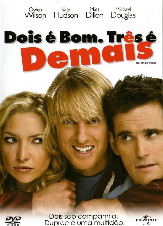 Cartaz do filme Dois é Bom, Três é Demais