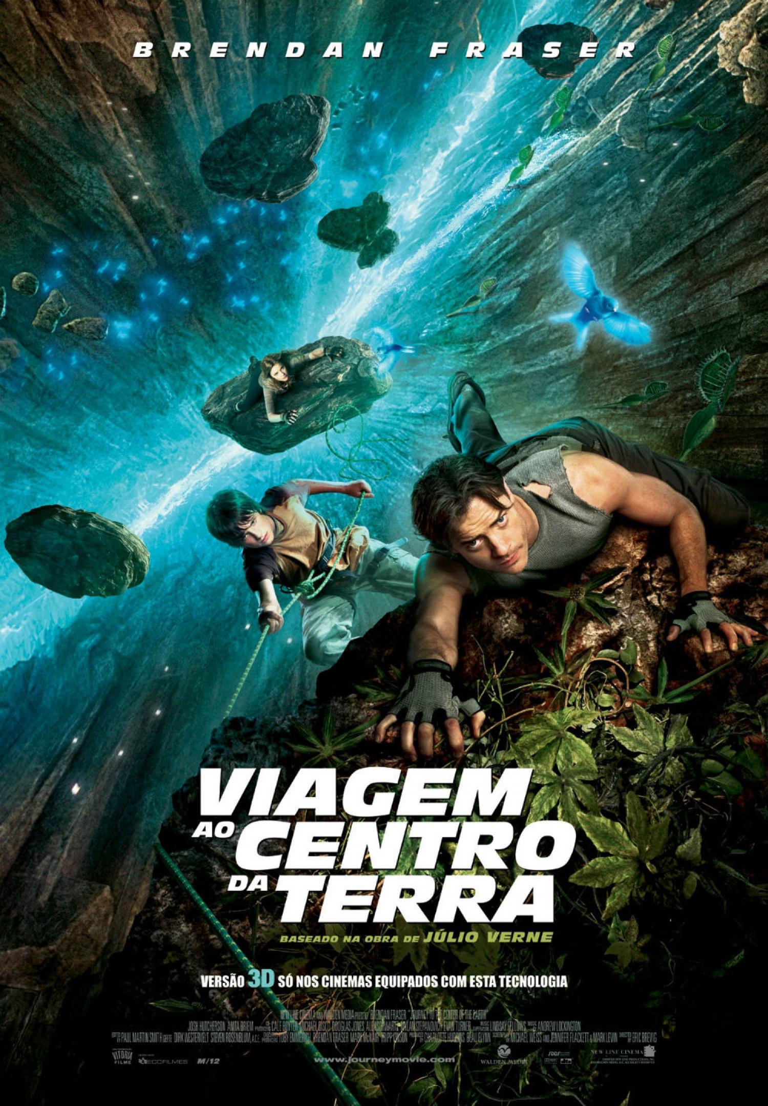 Cartaz do filme Viagem ao Centro da Terra