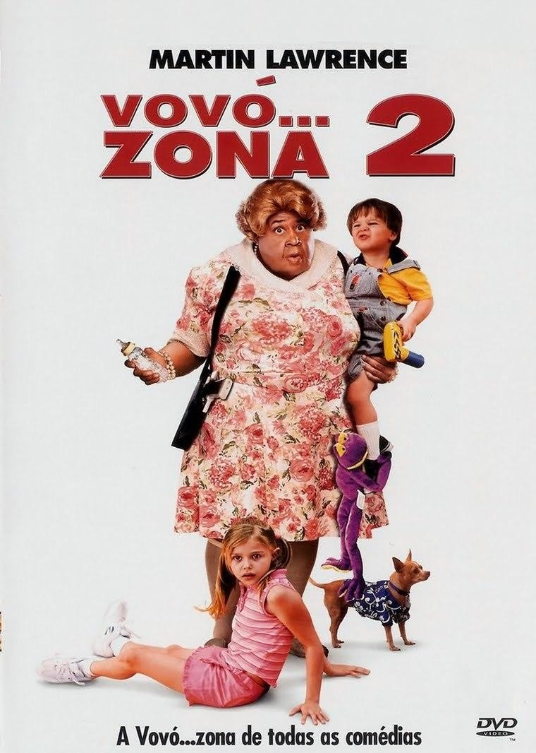 Cartaz do filme Vovó...Zona 2