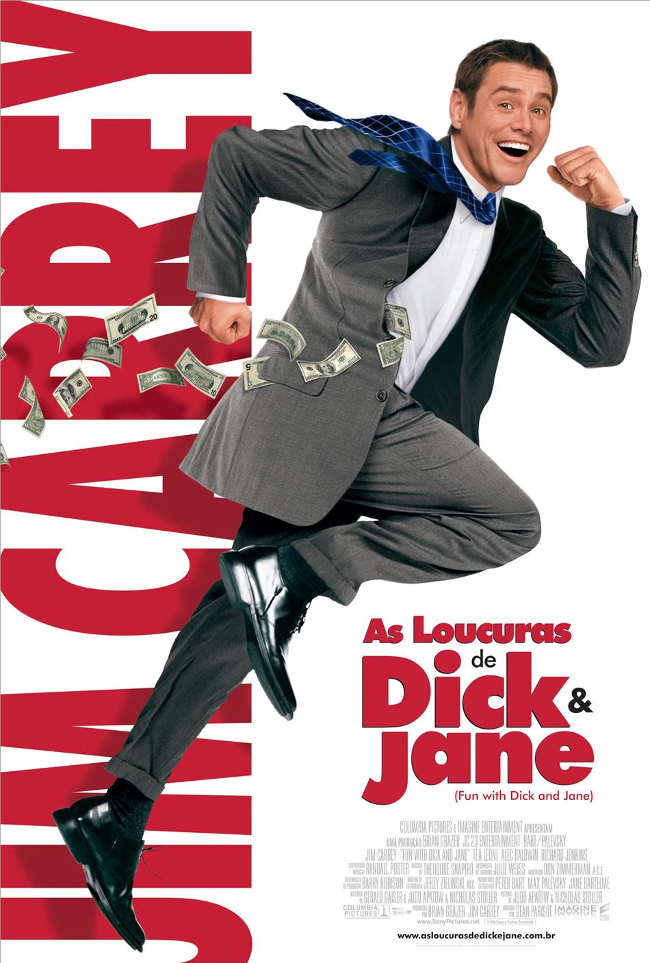 Cartaz do Filme As Loucuras de Dick e Jane