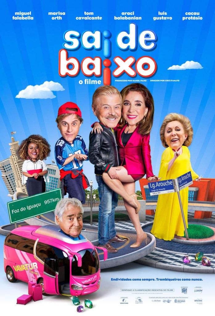 Cartaz do filme Sai de Baixo - O Filme