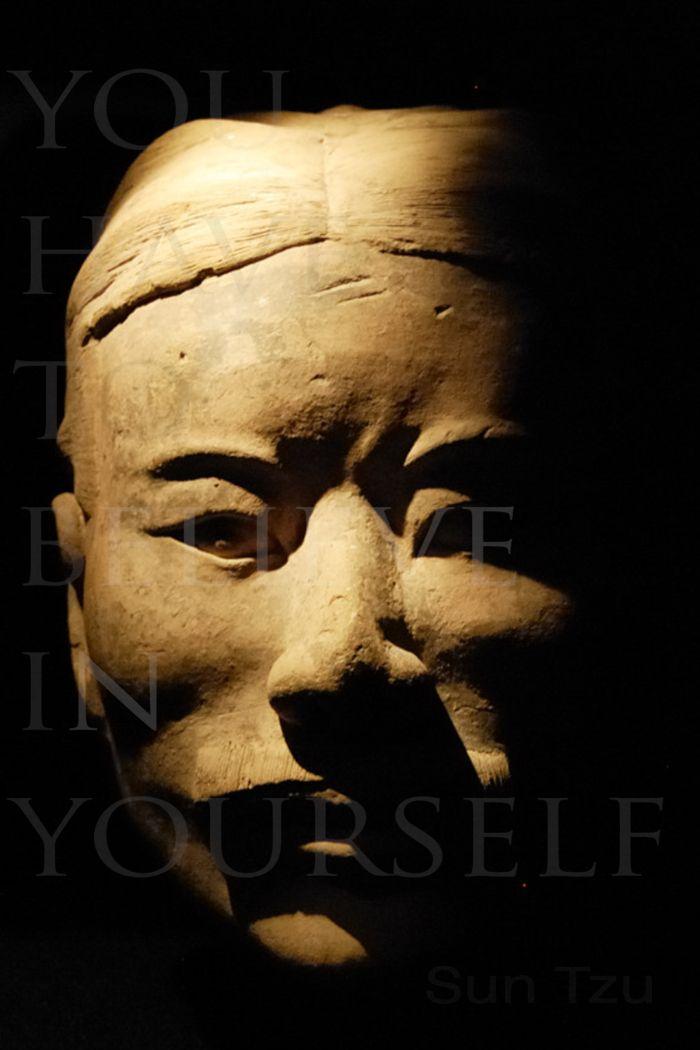 Sun Tzu meditation poster