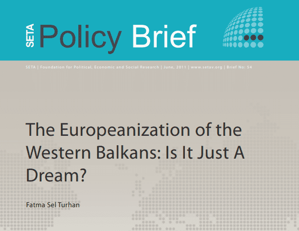 The Europeanization of the Western Balkans: Is It Just A Dream?