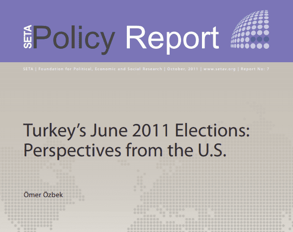 Turkey's June 2011 Elections: Perspectives from the U.S.