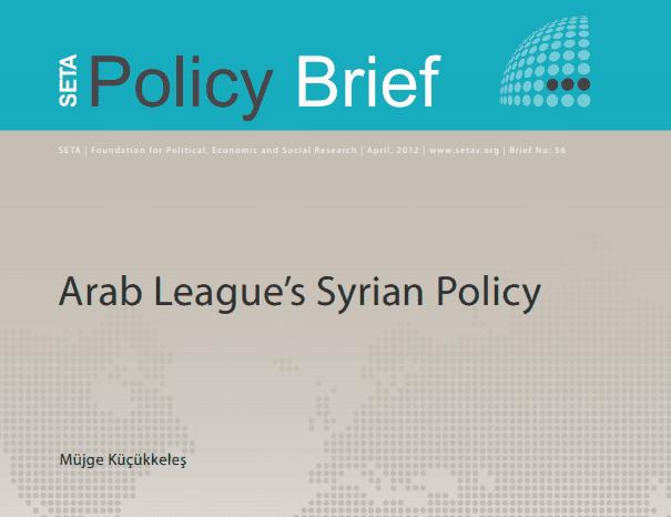 Arab League's Syrian Policy