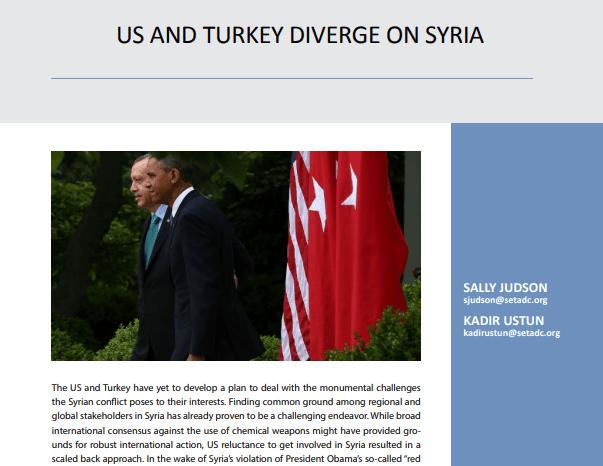 US and Turkey Diverge on Syria