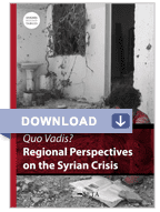 Quo Vadis_Regional Perspectives on the Syrian Crisis