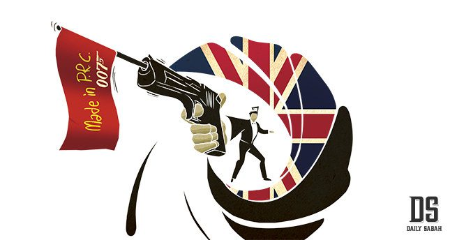 James Bond, Britney Spears and Sino-UK Relations