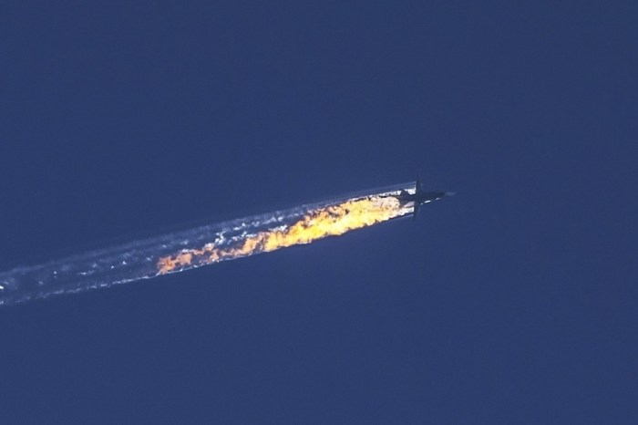 Turkey Downs a Russian Jet Near Syrian Border