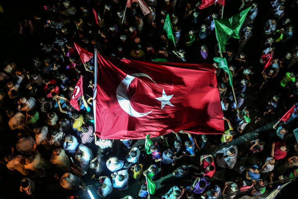 Failed Coup Attempt in Turkey
