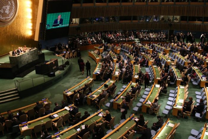UN General Assembly and UN's credibility
