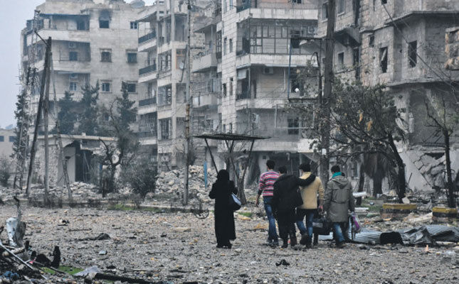 As Aleppo falls, so falls the international system