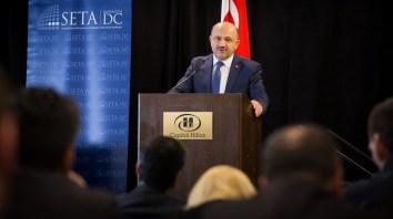 "Keynote Address by Defense Minister of Turkey and Panel, ""U.S. Strikes Assad: Toward a New Syria Policy?"""