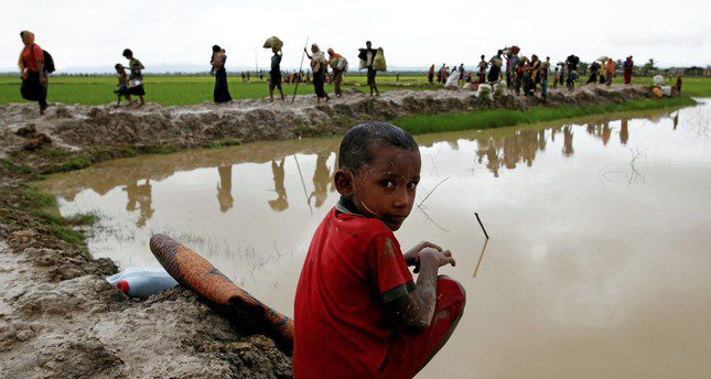 Ignoring another tragedy, this time in Myanmar