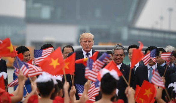 Headlines from Trump's Asia trip