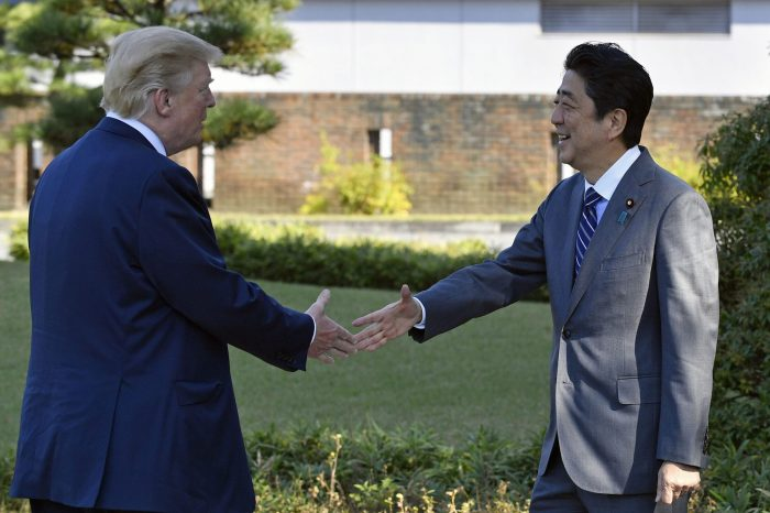 What changed after Trump's visit to Asia?