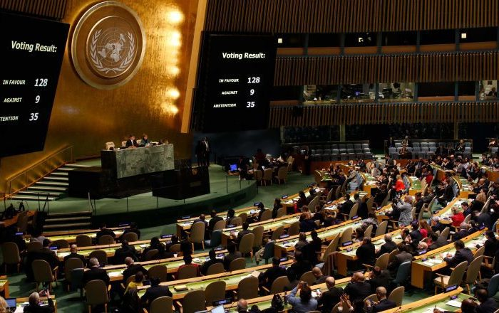 Middle Eastern balances after UN resolution on Jerusalem