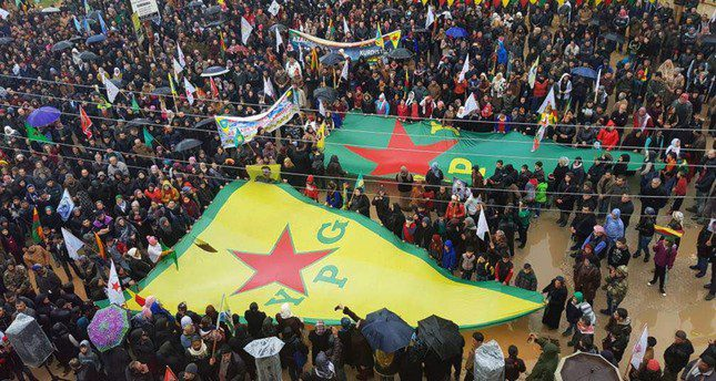 What is US-YPG cooperation for?