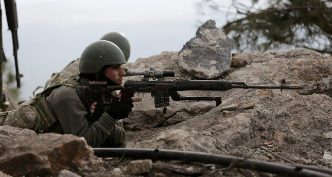 Limiting Turkey's fight against YPG