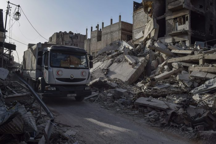 Humanitarian Challenges in Eastern Ghouta
